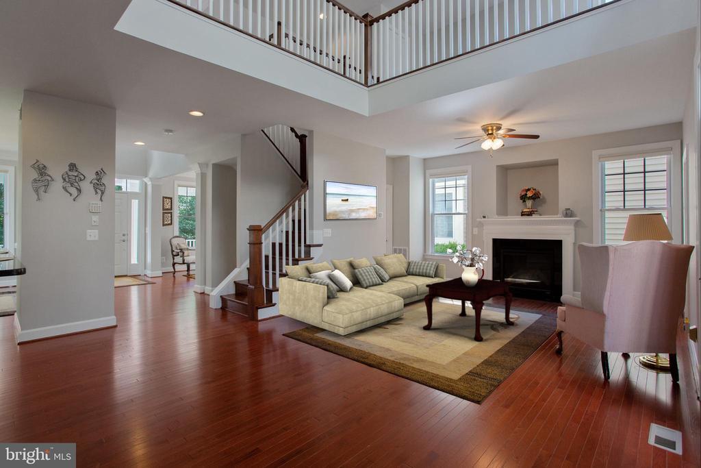 Family room - Furnished - 42461 TOURMALINE LN, BRAMBLETON