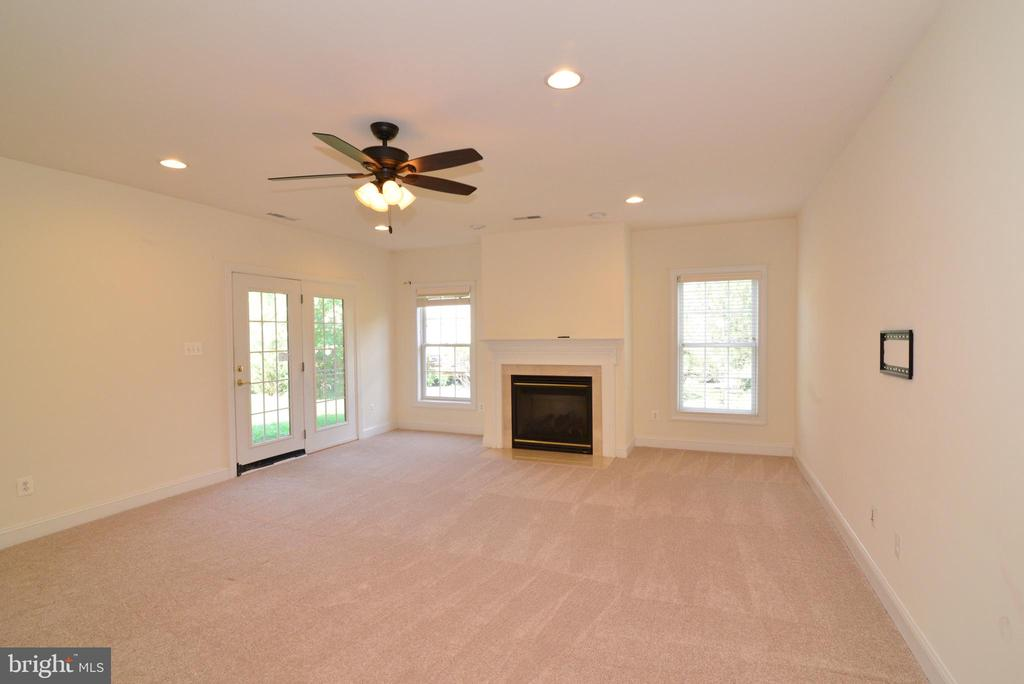 Recreation room with walk out - 43980 RIVERPOINT DR, LEESBURG