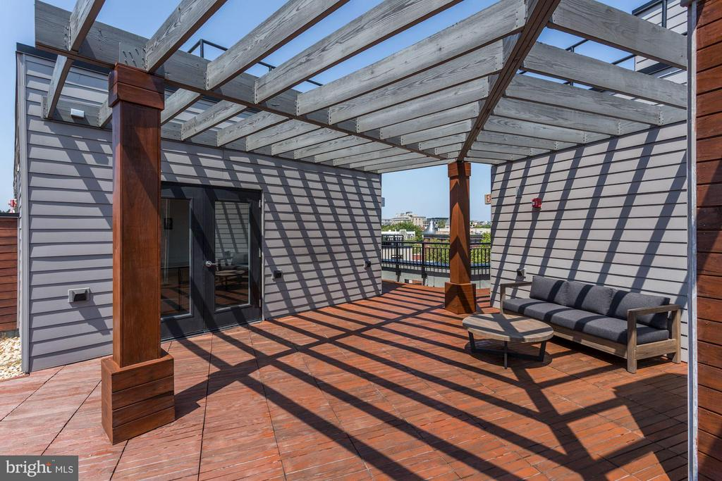 Roof-Top Deck with Caterer's Kitchen - 1550 11TH ST NW #303, WASHINGTON