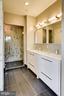 Master bathroom with separate shower - 1345 K ST SE #PH2, WASHINGTON