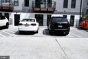 Assigned parking spot behind the building - 1345 K ST SE #PH2, WASHINGTON