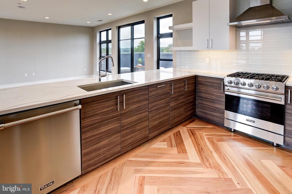 State-of-the art gourmet kitchen - 1345 K ST SE #PH2, WASHINGTON