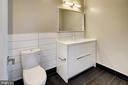 Bathroom#2 with dual flush toilet - 1345 K ST SE #PH2, WASHINGTON