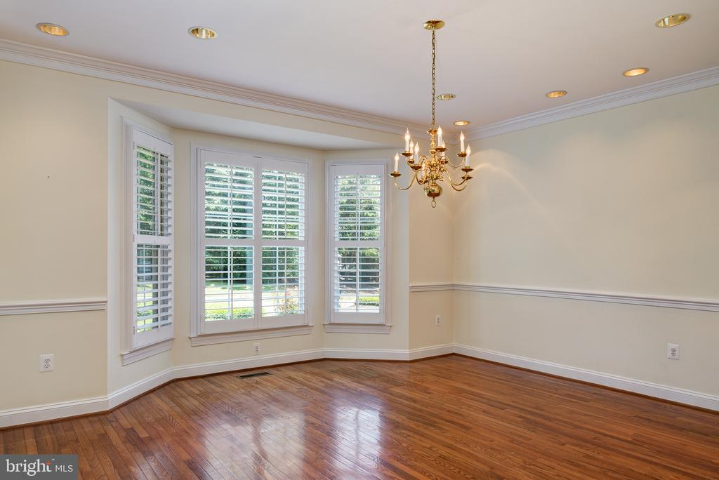 Dining Rm  for all your special occasions - 1144 ROUND PEBBLE LN, RESTON
