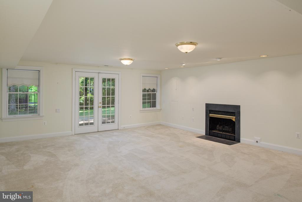Recreation Room has a Walk Out to the Rear Yard - 1144 ROUND PEBBLE LN, RESTON