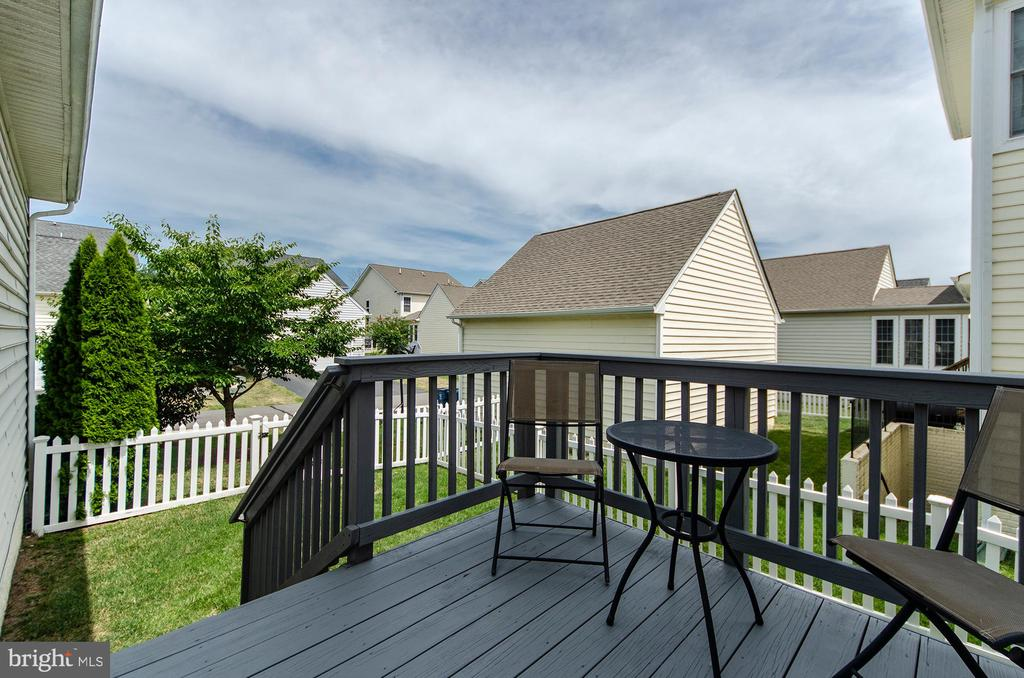 Owner added a deck of of the sun-room - 25233 RIDING CENTER DR, CHANTILLY