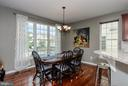 Casual dining and breakfast area - 25233 RIDING CENTER DR, CHANTILLY