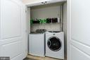 Handy bedroom level laundry - 25233 RIDING CENTER DR, CHANTILLY