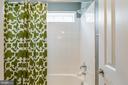 Tile in bathtub/shower combination. - 9 WOODLOT CT, STAFFORD