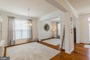 Foyer, dining room and living room w/ hardwoods. - 9 WOODLOT CT, STAFFORD