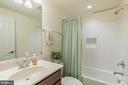 Basement bathroom. - 9 WOODLOT CT, STAFFORD