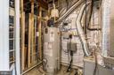 Natural gas hot water and heat utilities. - 9 WOODLOT CT, STAFFORD