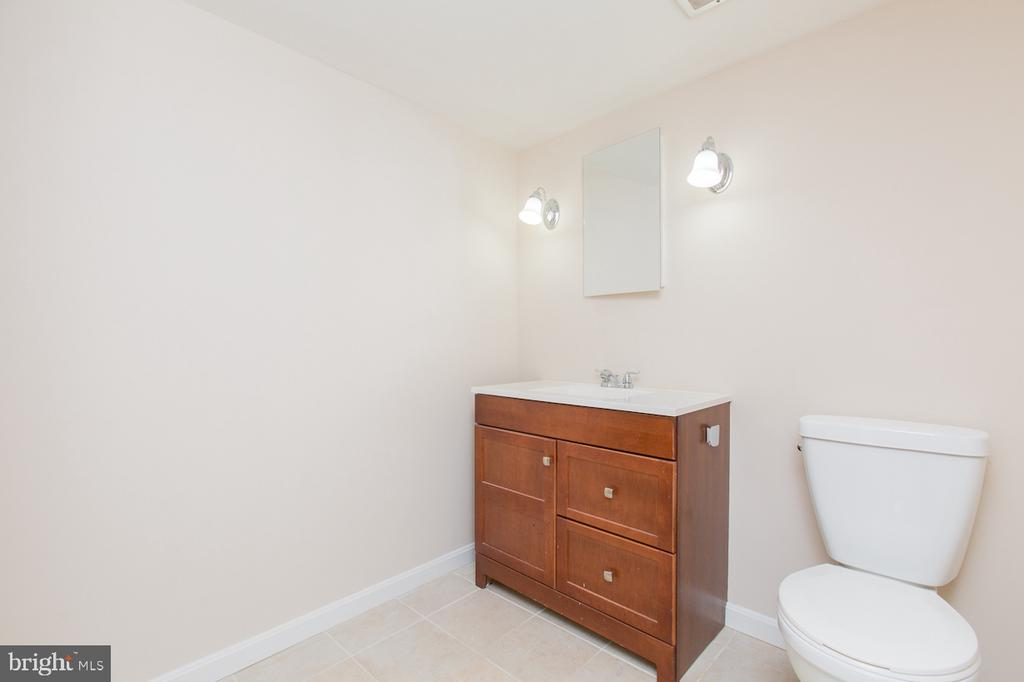 Lower Level Bath - 9806 RALEIGH TAVERN CT, BETHESDA
