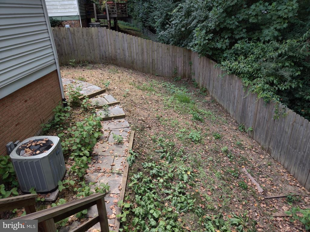 Backyard - 9806 RALEIGH TAVERN CT, BETHESDA
