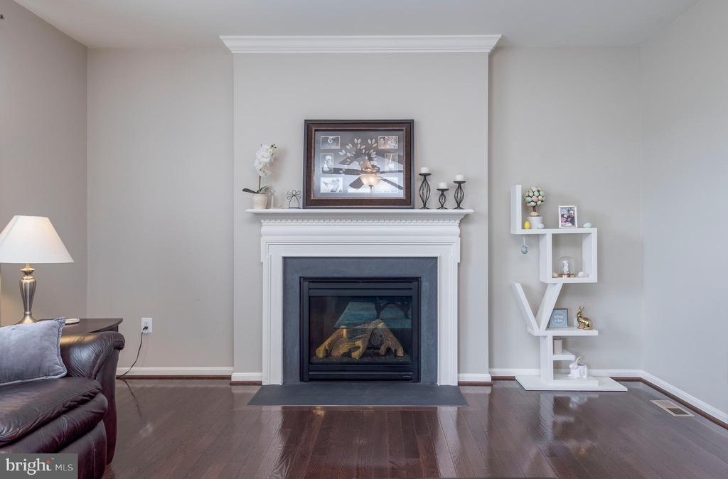 Cozy gas fireplace - 31 DAFFODIL LN, STAFFORD