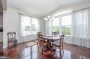 Large Dining Area with lots of natural light - 31 DAFFODIL LN, STAFFORD