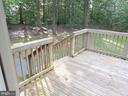 Deck off of Family Room - 183 HEFLIN RD, STAFFORD