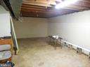 Large Storage Room in Basement - 183 HEFLIN RD, STAFFORD