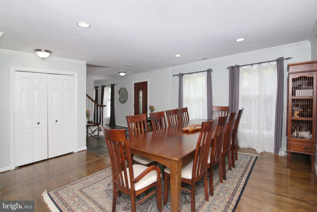 Dinning Room - 3534 MORNINGSIDE DR, FAIRFAX