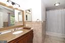 Master bathroom - 3534 MORNINGSIDE DR, FAIRFAX