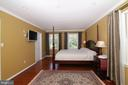 Master Bedroom hardwood floors - 3534 MORNINGSIDE DR, FAIRFAX