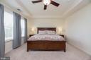 Master bedroom - 31 DAFFODIL LN, STAFFORD