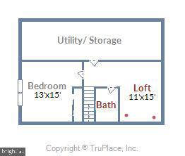 3rd Floor - 16813 HARBOUR TOWN DR, SILVER SPRING