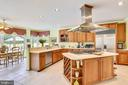 Gourmet kitchen - 16813 HARBOUR TOWN DR, SILVER SPRING