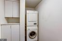 One of two in-unit laundry facilities - 701 PENNSYLVANIA AVE NW #1025-1026, WASHINGTON