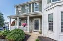 charming porch! - 46626 WINTERSET CT, STERLING