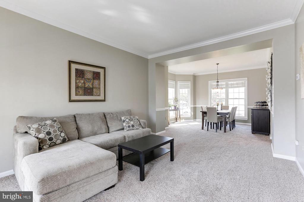 relaxing living room! - 46626 WINTERSET CT, STERLING