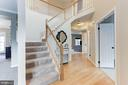 two story foyer! - 46626 WINTERSET CT, STERLING
