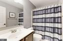large hall bath! - 46626 WINTERSET CT, STERLING