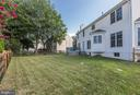 Large fenced yard!! - 46626 WINTERSET CT, STERLING