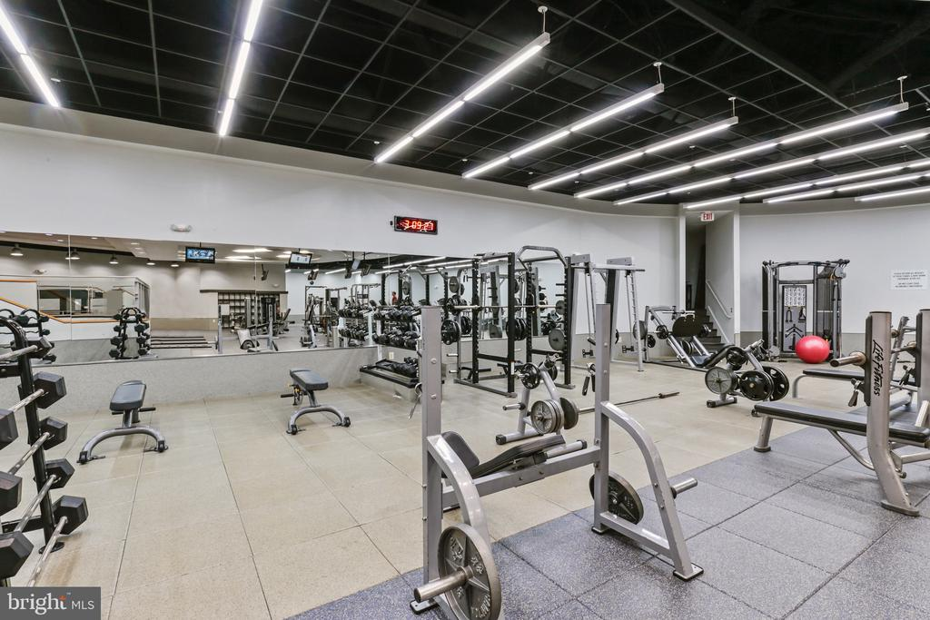 Fully equipped and updated Gym - 1121 ARLINGTON BLVD #1004, ARLINGTON