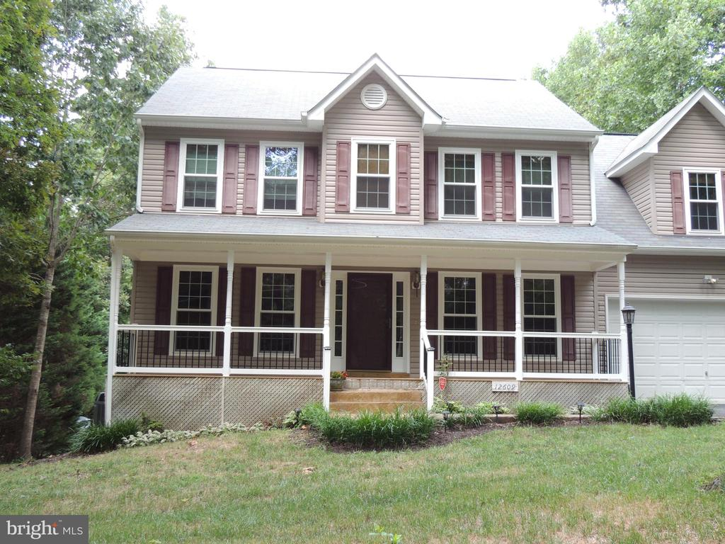Full Front Porch - 12609 TOLL HOUSE RD, SPOTSYLVANIA