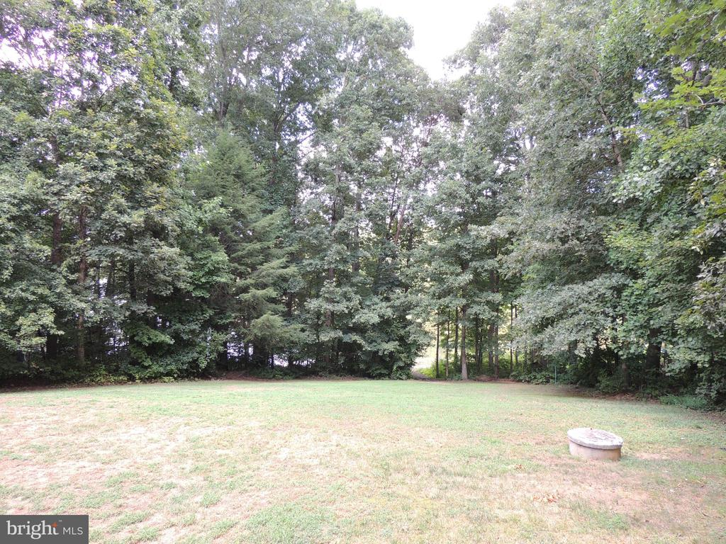 Large Back Yard - 12609 TOLL HOUSE RD, SPOTSYLVANIA