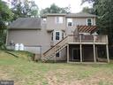 Back of House - 12609 TOLL HOUSE RD, SPOTSYLVANIA