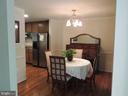 Dining Room - 12609 TOLL HOUSE RD, SPOTSYLVANIA