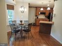 Breakfast area - 12609 TOLL HOUSE RD, SPOTSYLVANIA