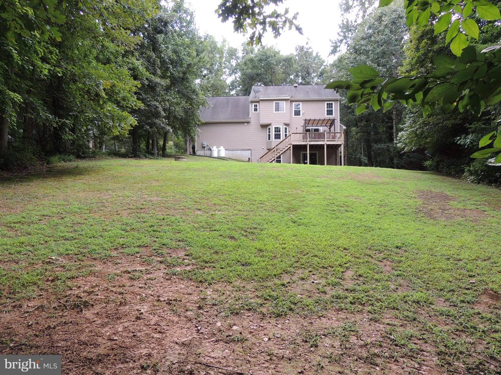 Rear Yard - 12609 TOLL HOUSE RD, SPOTSYLVANIA