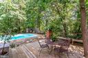 Guest House decks - 1201 KEY DR, ALEXANDRIA