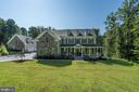 stone and dormers, tons of details! - 11606 LAWTER LN, CLIFTON