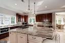 Custom details throughout this gourmet kitchen - 11606 LAWTER LN, CLIFTON