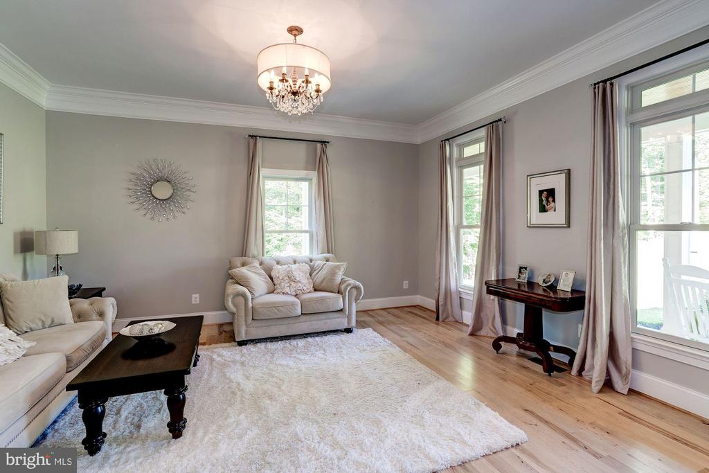 Bright Living room - 11606 LAWTER LN, CLIFTON