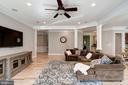 family room - 11606 LAWTER LN, CLIFTON