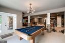 game table area - 11606 LAWTER LN, CLIFTON