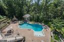pool and pool house - 11606 LAWTER LN, CLIFTON