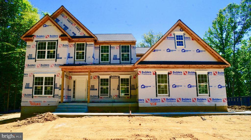 Front Exterior will be Stone Front - 21 ACCOKEEK VIEW LN, STAFFORD