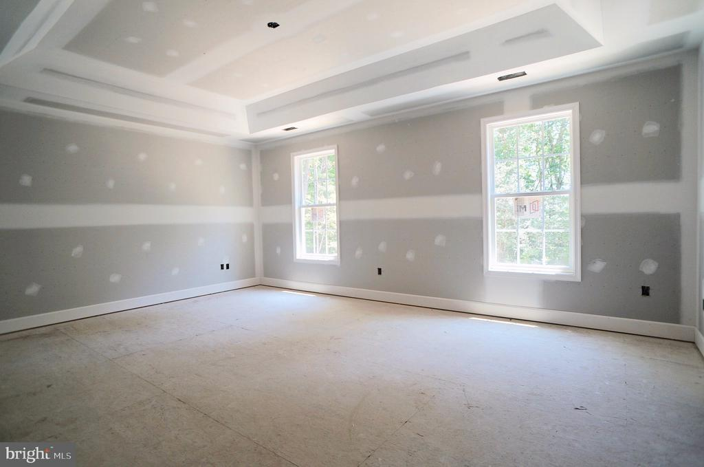 Owners Bedroom with Tray Ceiling - 21 ACCOKEEK VIEW LN, STAFFORD
